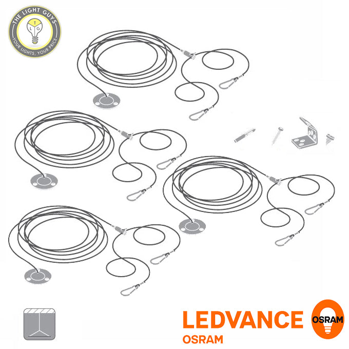 OSRAM LEDVANCE Panel Suspension Kit 4 Pack - TheLightGuys