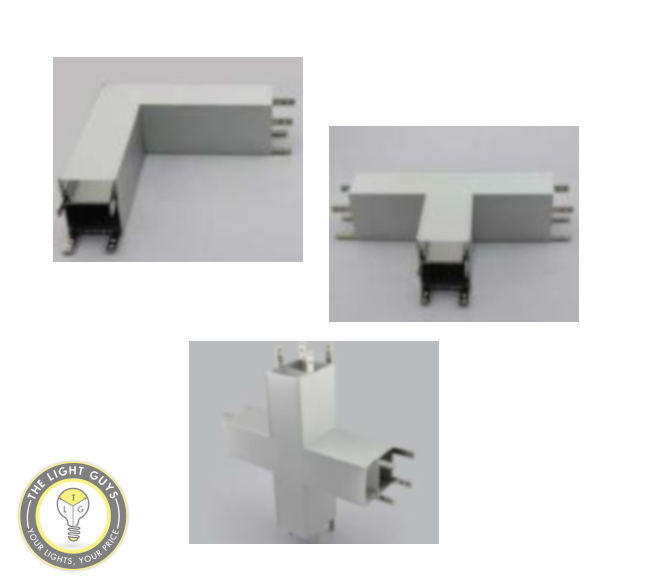 TLG Connectors for LED Standard Modular Channel - TheLightGuys