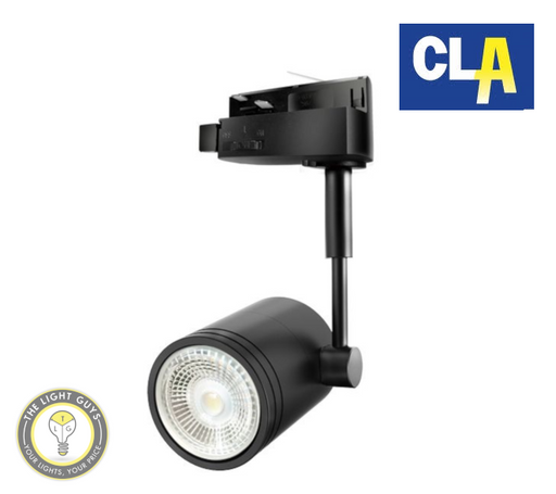 CLA 1 Circut GU10 Track Head Fittings Black | White - TheLightGuys