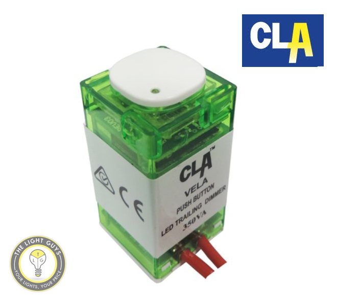 CLA VELA Push Button LED Trailing Dimmer - TheLightGuys
