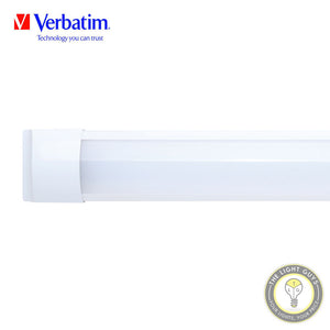VERBATIM Integrated Slim LED Battens 5K IP65 21W | 42W | 600MM | 1210MM - TheLightGuys