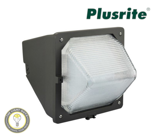 PLUSRITE LED Wall Pack 277V 5000K 28W | 59W - TheLightGuys