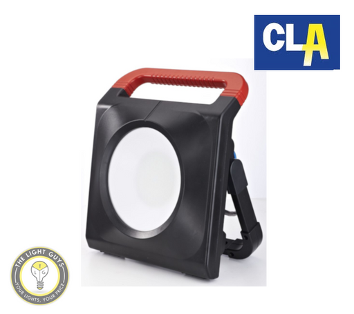 CLA Zeus Portable LED Flood Light 50W 240V 6500K - TheLightGuys