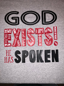 God Exists(Names)-Bundle(Tracts and Shirt)