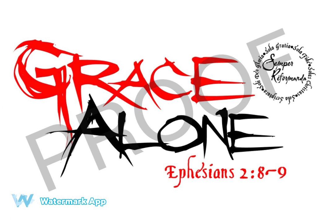 Grace Alone Bundle(Tracts and Shirt)