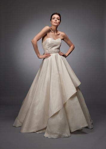Wedding Draped Gown