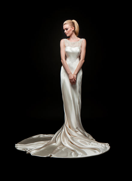 Mae - Crepe Back Satin Bridal Gown