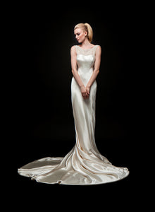 Mae (Sale) - Crepe Back Satin Bridal Gown
