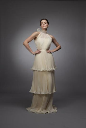 Kate - Pleated Organza Bridal Gown