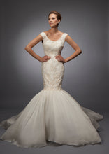 Louise - Lace and Organza Mermaid Bridal Gown
