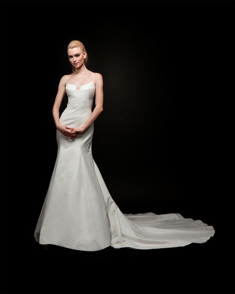 Laura - Organza Back Bridal Gown