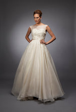 Mary - Crystal Embroidered Organza Bridal Gown