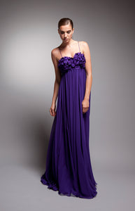 Violetta - Vivid purple gown