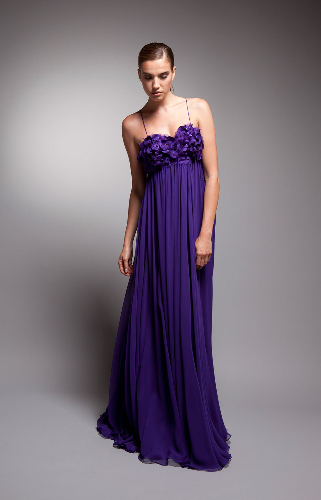 Violetta (Sale) - Vivid purple gown