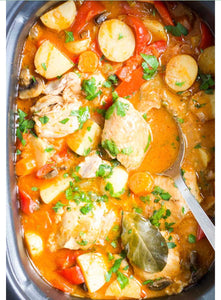 Slow cooker chicken casserole