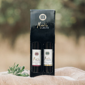 Caramelised Balsamic Vinegar 250ml + Extra Virgin Olive Oil 250ml - Gift Pack
