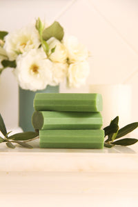 Natural Olive Oil Soap - 10 Unwrapped Bars