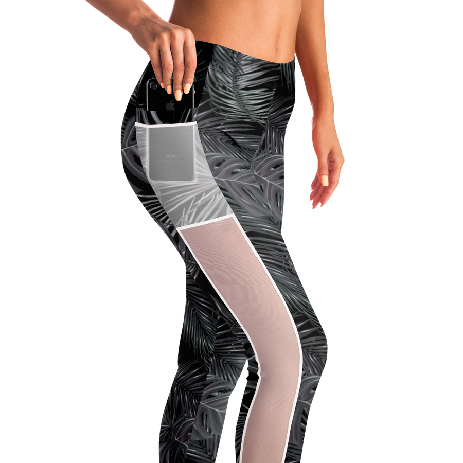 Our Green Affair - Mesh pocket leggings