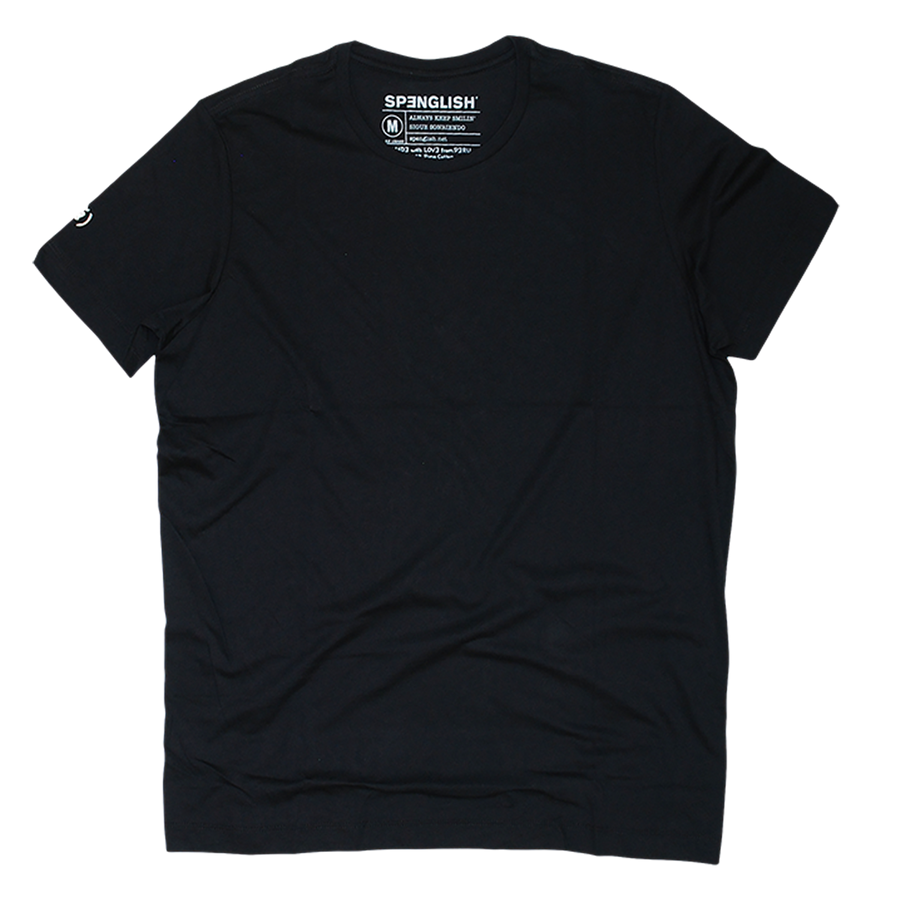 Pima Crew Neck T-shirt // Black