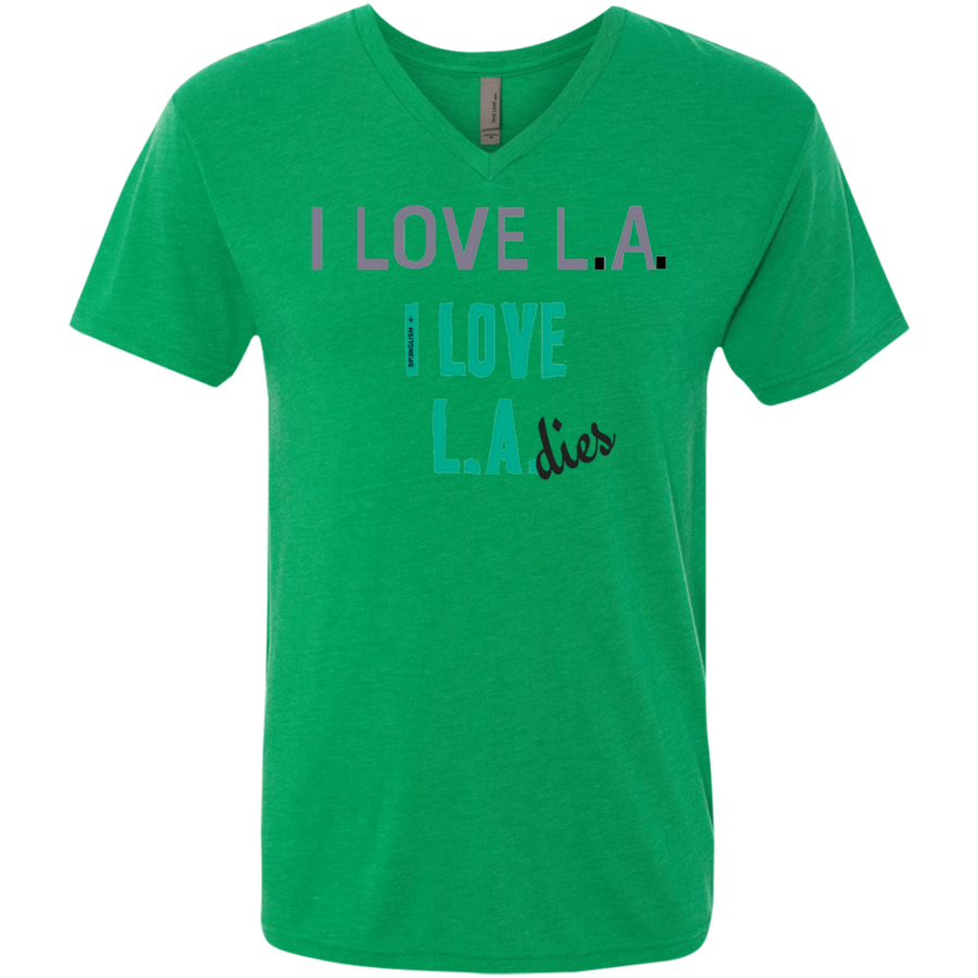 NL6040 Next Level Men's Triblend V-Neck T-Shirt