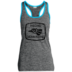 LST396 Sport-Tek Ladies' Moisture Wicking Electric Heather Racerback Tank