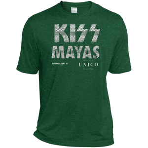 KISS MAYAS UNICO -  Sport-Tek Heather Dri-Fit UNISEX Moisture-Wicking T-Shirt