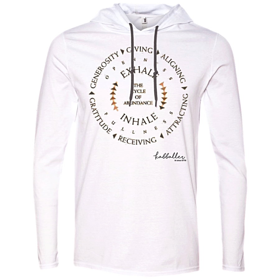 THE CYCLE OF ABUNDANCE - Anvil LS UNISEX T-Shirt Hoodie