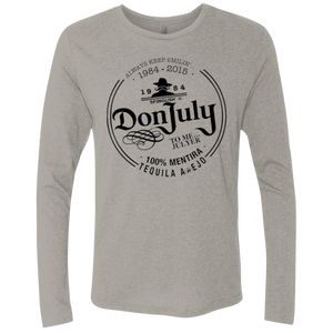 DON JULY - Next Level unisex Triblend LS Crew