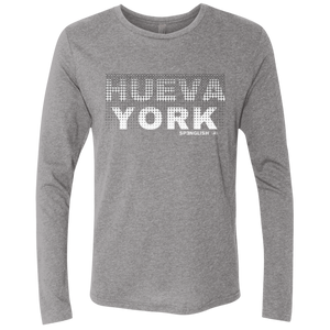 HUEVA YORK - Next Level Men's Triblend LS Crew