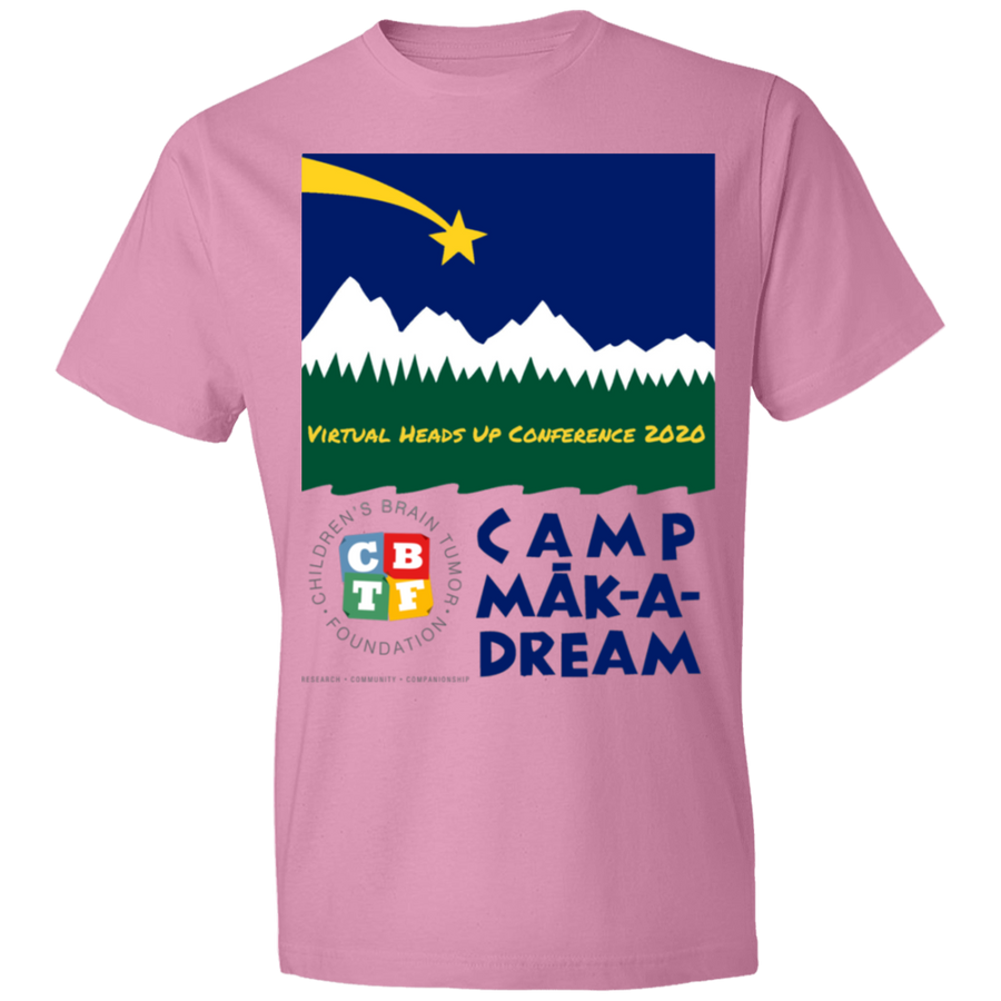 Camp make a Dream - Lightweight T-Shirt 4.5 oz