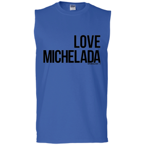 LOVE MICHELADA - Gildan Men's Ultra Cotton Sleeveless T-Shirt