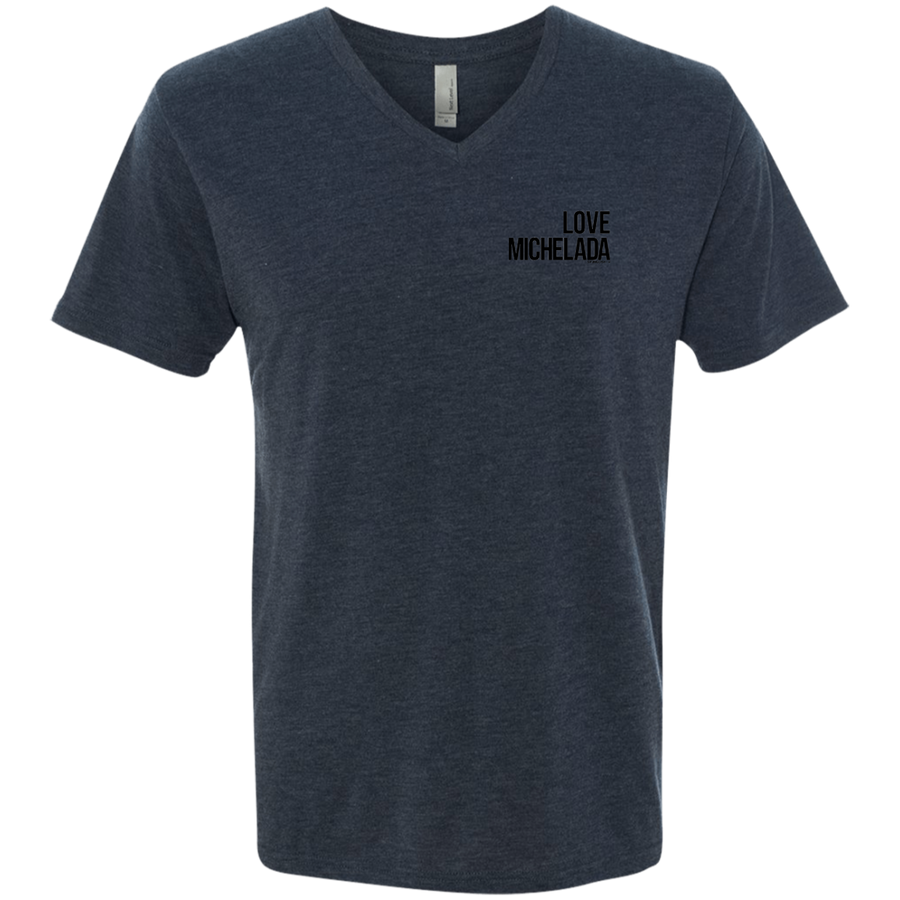 LOVE MICHELADA - Next Level Men's Triblend V-Neck T-Shirt