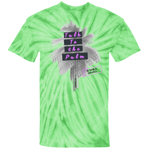 TALK TO THE PALM UNISEX 100% Cotton Tie Dye T-Shirt
