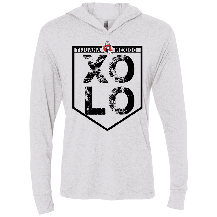 XOLO TIJUANA MEXICO-  Unisex Triblend LS Hooded T-Shirt