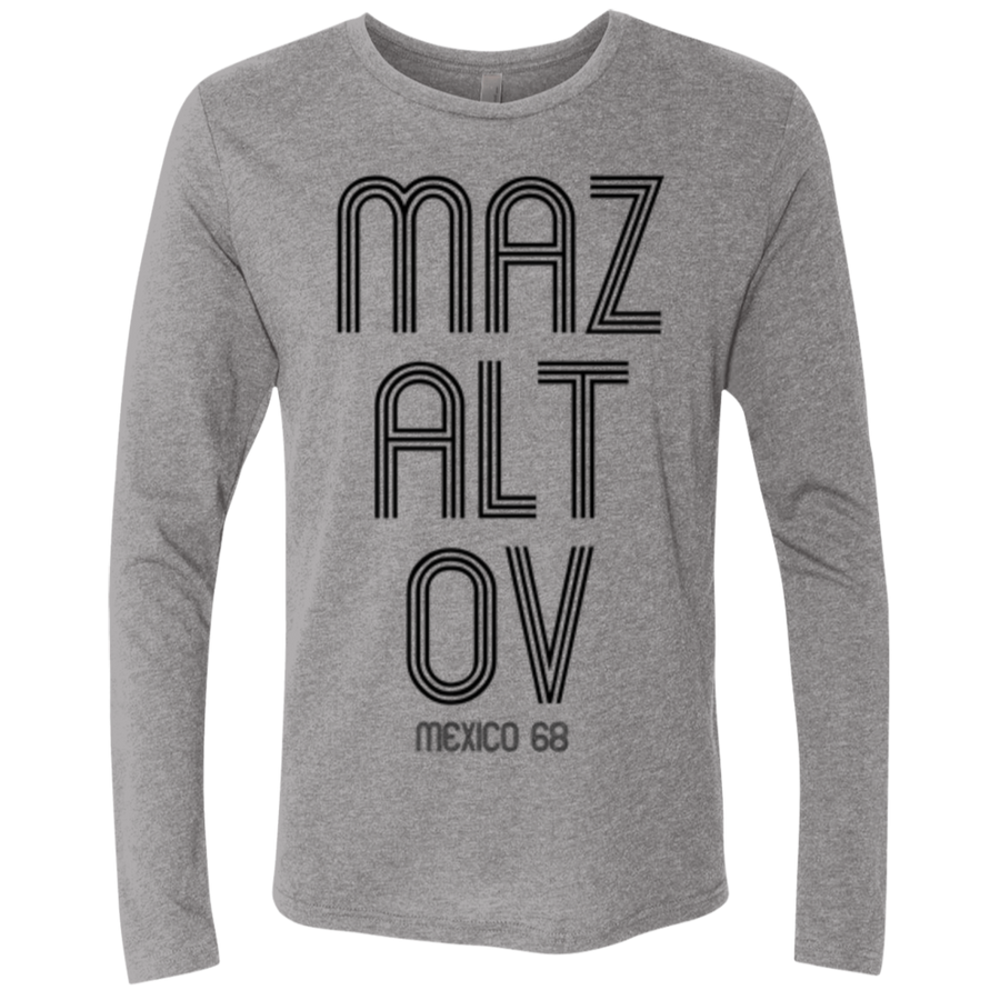 MAZALTOV MEXICO 68 - Next Level Unisex Triblend LS Crew