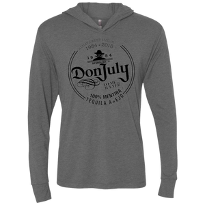 DON JULY - Next Level Unisex Triblend LS Hooded T-Shirt