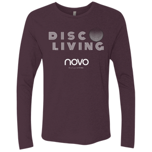 DISCO LIVING -  Next Level UNISEX Triblend LS Crew