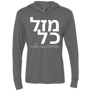 MAZAL KOL -  Next Level Unisex Triblend LS Hooded T-Shirt