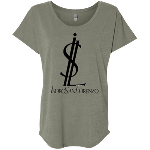 ISIDRO SAN LORENZO -Next Level Ladies' Triblend Dolman Sleeve