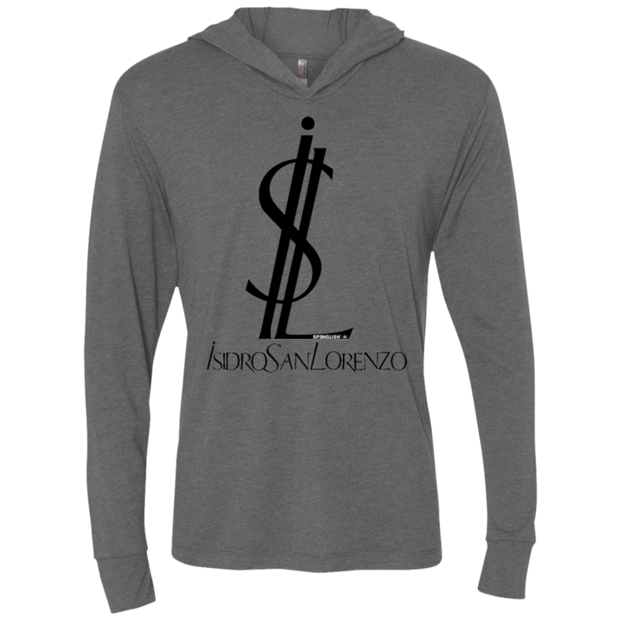ISIDRO SAN LORENZO - Next Level Unisex Triblend LS Hooded T-Shirt