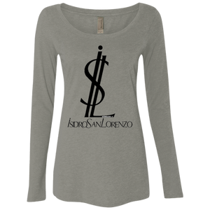 ISIDRO SAN LORENZO - Next Level Ladies' Triblend LS Scoop