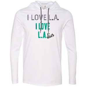 I HEART LADIES UNISEX Anvil LS T-Shirt Hoodie