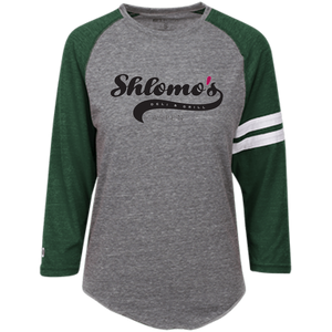 Shlomo's- Unisex Holloway Heathered Vintage T-Shirt