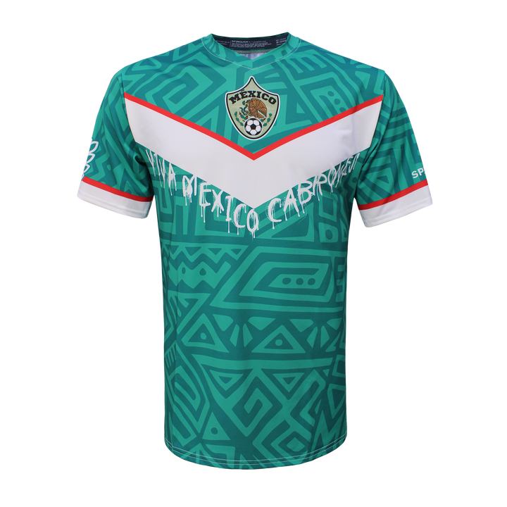 EL TRI - MEXICO - LIMITED EDITION - VIVA MEXICO CABRONES - - FAN JERSEY