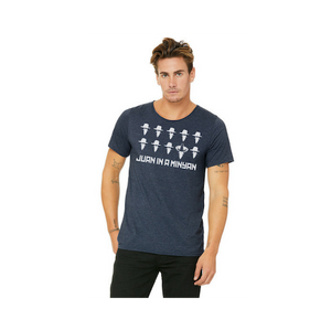 JUAN IN A MINYAN- unisex Raw Neck Tee
