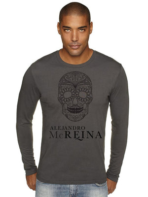 Alejandro McReina- Long Sleeve Fitted Crew