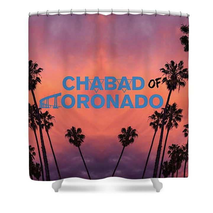 Chabad Coronado - Shower Curtain