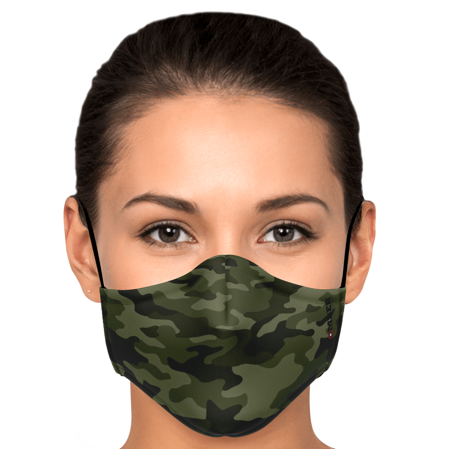 Bomber Camo - face mask