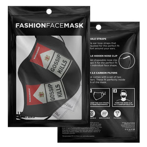 GOSSIP KILLS - face mask