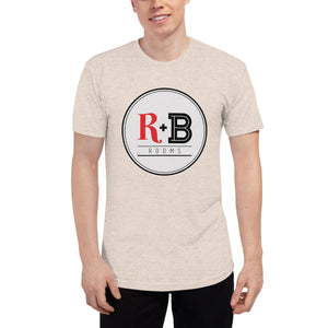 R + B Rooms  - Unisex Tri-Blend Track Shirt
